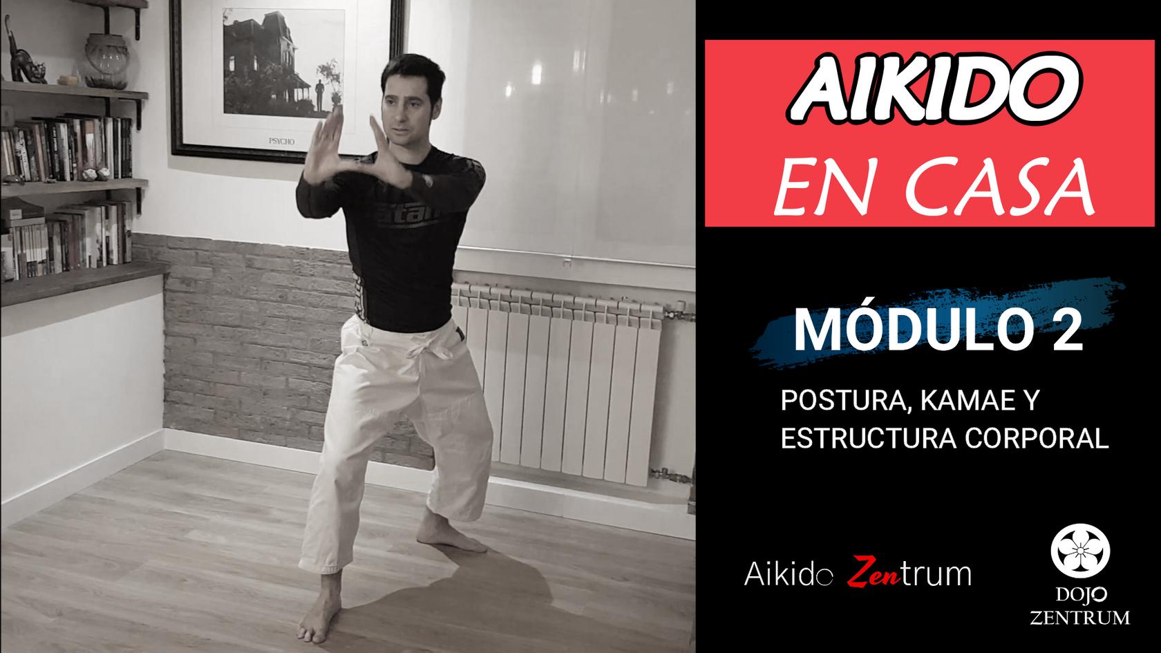 MÓDULO 2: Postura, Kamae y estructura corporal