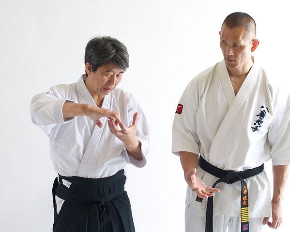 Aikido Dojo Zentum Matsuoka Sensei y Kenji Yamaki