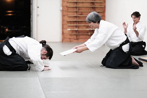 Aikido Madrid Matsuoka Sensei