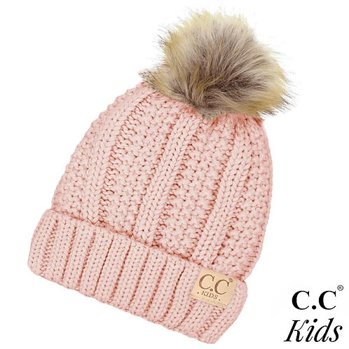 Kid's Ribbed Hat