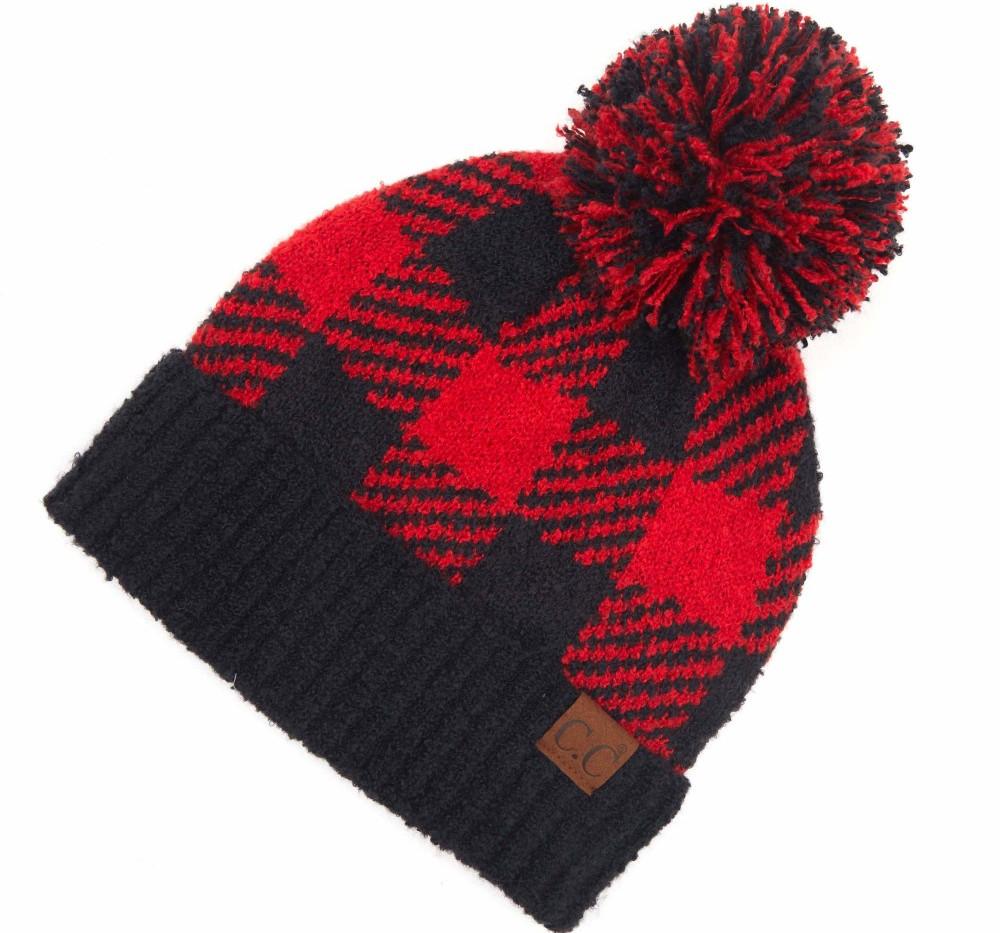 cc black:red check hat.jpg