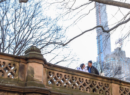 ¡Hicimos fotos en el Central Park!