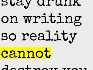 Writing is My Drug of Choice