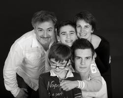 Photo de famille studio