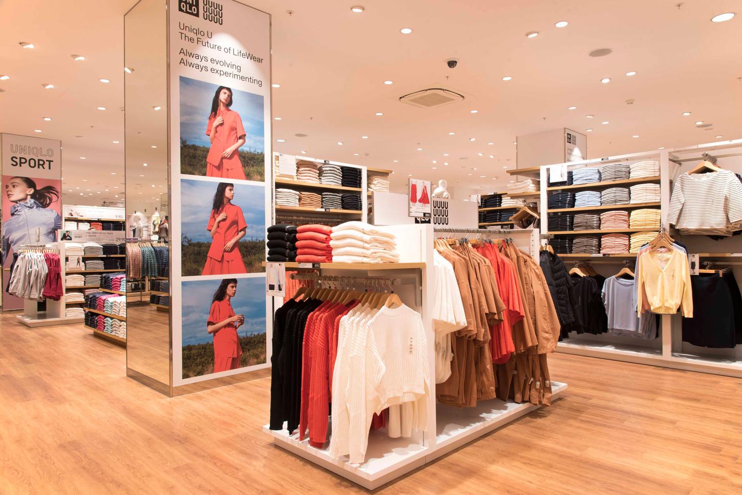 Ouverture de la boutique Uniqlo pour Imagera