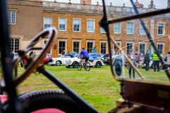 Delapre Abbey vintage car show