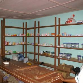 la pharmacie de l'unité de soins