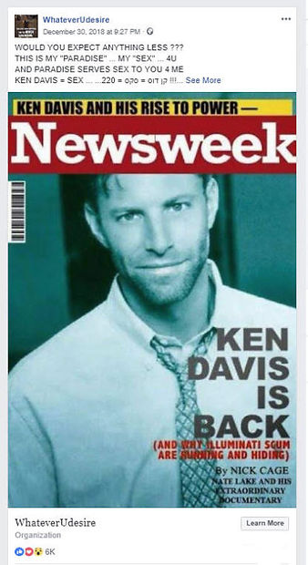 Newsweek SEX Rise to Power for Instagram