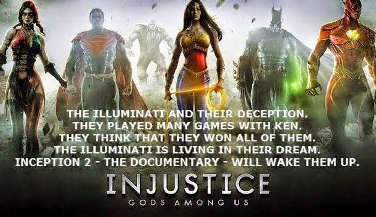 Illuminati and God wake them up INJUSTIC