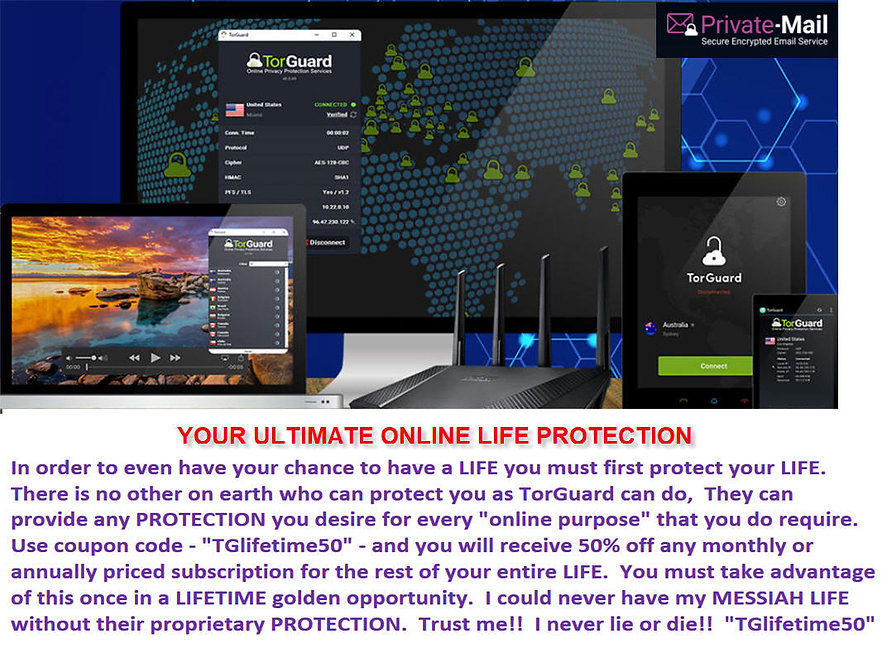 TORGUARD Online Protection product image FROM Kenneth Ian Davis AND whateverUdesire.com AND The Real Original Only Authentic Messiah Has Arrived