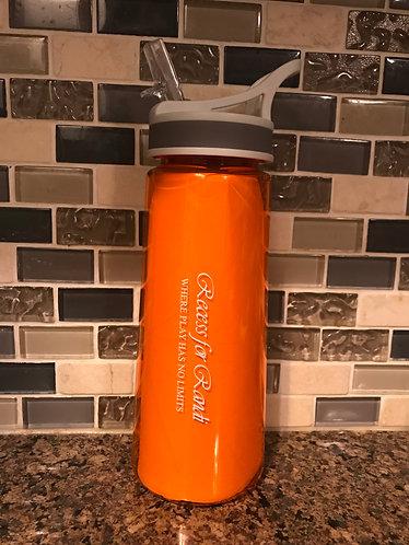 Sports Water Bottle – Orange 22 Oz.