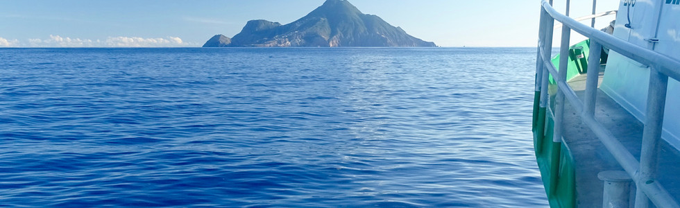 Dawn II ~ The Saba Ferry going to Saba.