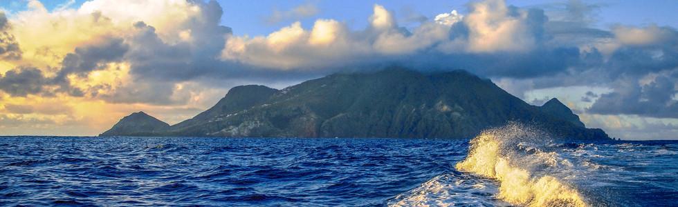 Leaving Saba to Sint Maarten