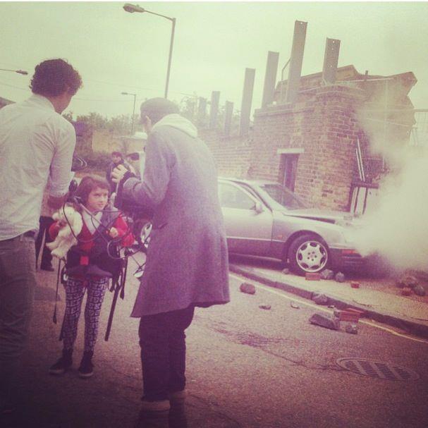 Lily Aslandogdu being directed on set by Martin Stirling.jpg