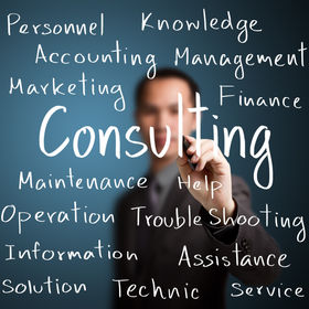 businessman writing consulting concept.j