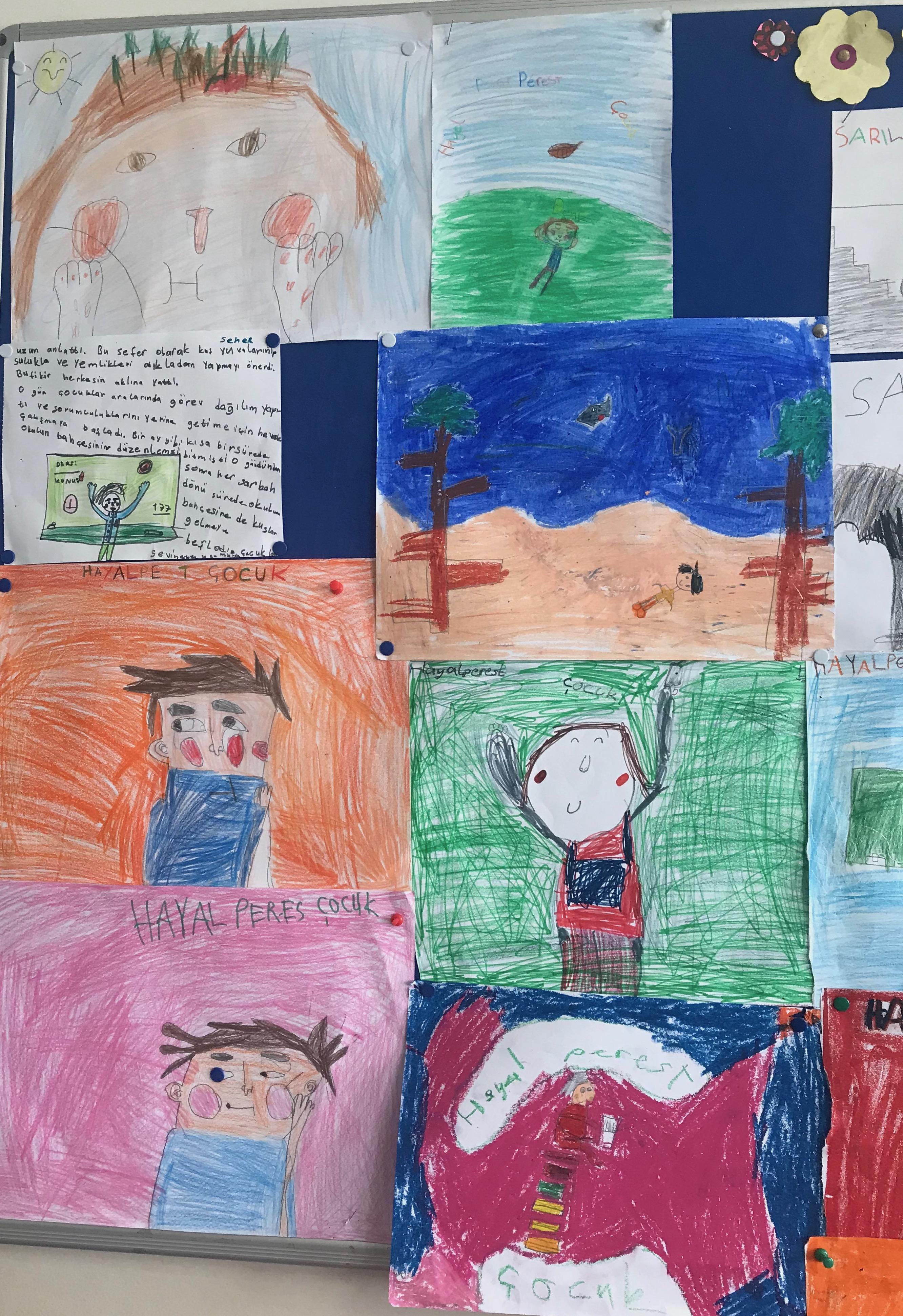 Hayalperest Çocuk Kitabı Çalışması