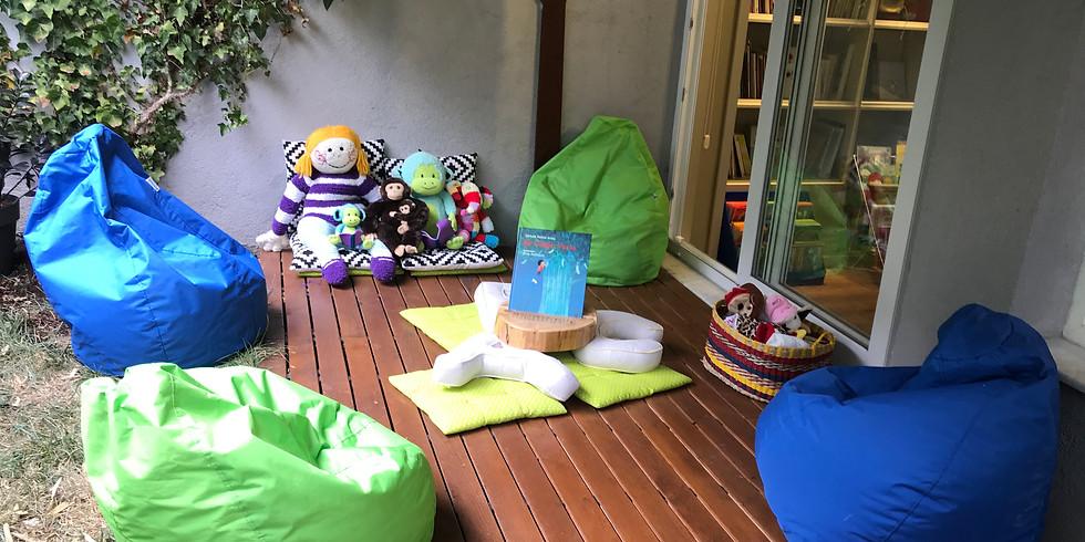 10 Ekim Saat 13.00 Bahçede Masal Saati (4-6 Yaş)