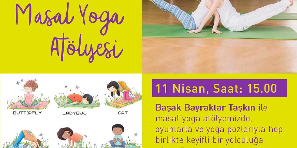 11 Nisan Saat 15.00 Masal Yoga Atölyesi (Ücretsiz) (4 Yaş ve Üzeri)
