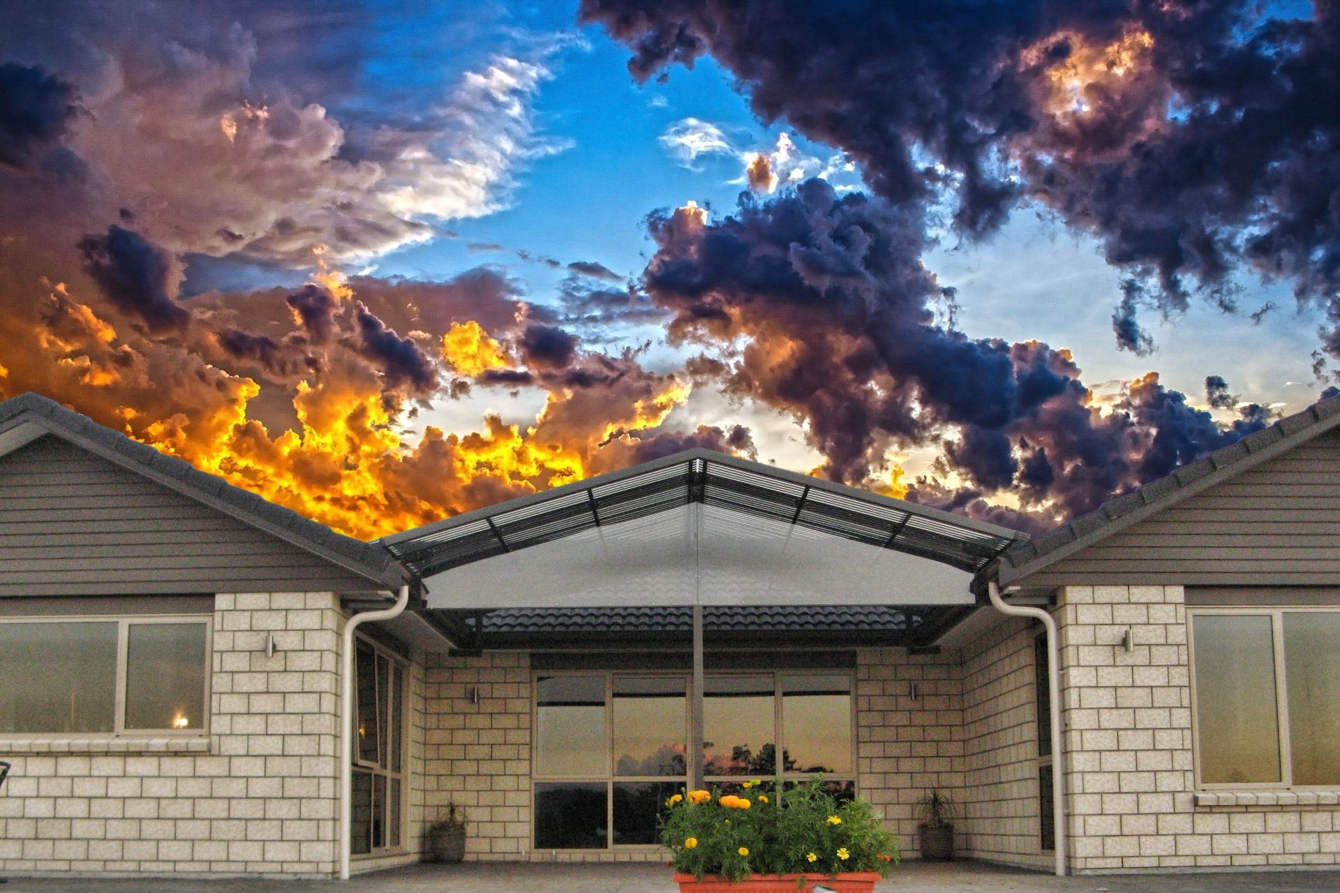 Gable Home Canopy