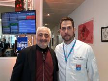 Thomas avec le Chef Guy Savoy