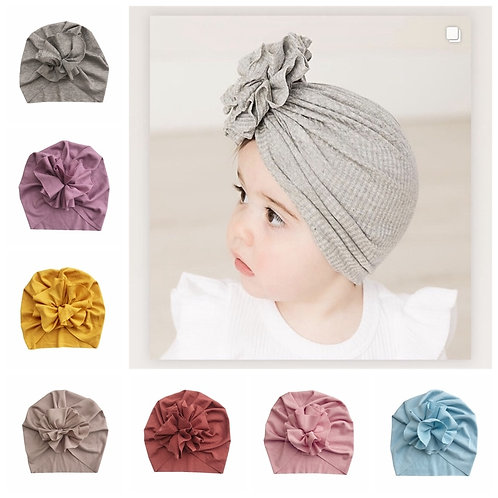 Flower Baby Girls  Newborn Infant Toddler Kids Girls  Beanie Cap