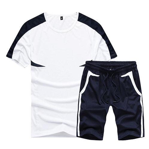 Casual Mens Tracksuit Clothing Men Set