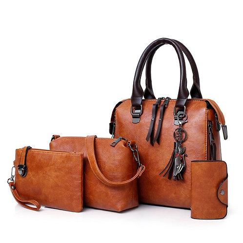 Women Composite Luxury Famous Brands Designer  4pcs Ladies Set