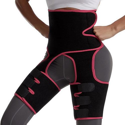 Trimmer Leg Shapers Slender Slimming Belt Neoprene Sweat Shapewear