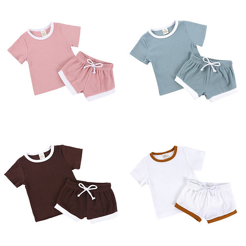 Toddler Girl Summer Clothes Sets