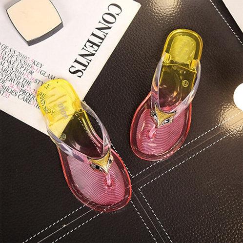 Women Summer Slippers Jelly Slides