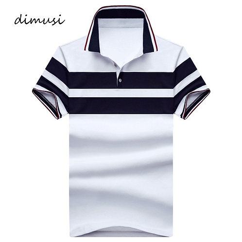 Men's Polos Breathable Cotton Short Sleeve Shirts