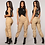 Thumbnail: Fashion High Waist Cargo Pants Women Loose Joggers With Pockets