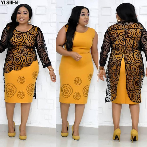 African Dresses for Women Africa Dress Plus Size