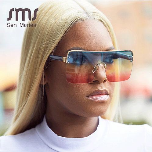 Fashion Oversized Square Sunglasses Women