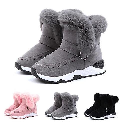Winter Children's Plush Warm Snow Boots Casual Non-Slip