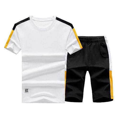 Men Sets Casual Tracksuit Shorts Sets