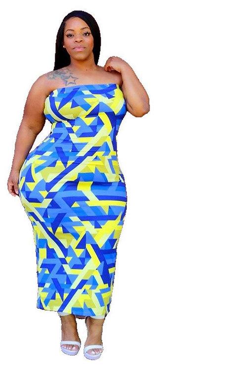 Plus Size L-4xl Women Winter Long Dress