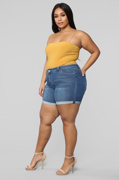 Shorts Women Plus Size Jean Short Pants