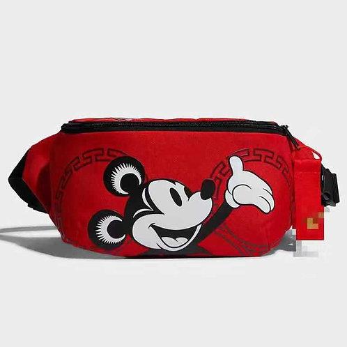 Disney Mickey Mouse Boy Canves Messenger Doll Belt Shoulder Bag