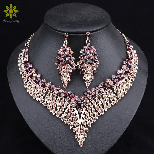 Leaf African Jewelry Sets