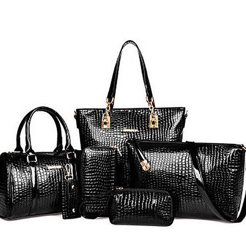 6pcs Women Bag Set Luxury Handbags Designer Crossbody Bags