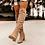 Thumbnail: Women Over the Knee High Boots Hoof Heels