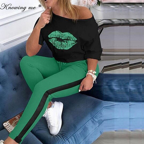 Women Tracksuit Sets Lady
