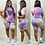 Thumbnail: Pink Letter Print 2 Piece Set Womens Outfits Tie Dye