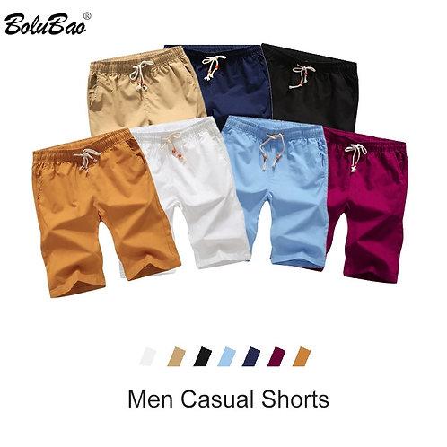 Solid Short Summer New Men's Drawstring Casual Short