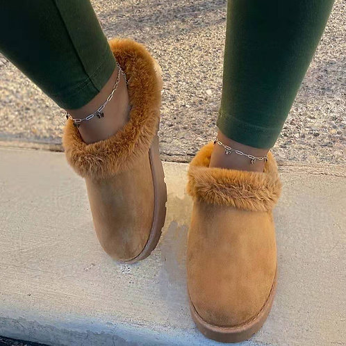 Casual Living Round Keep Warm Comfortable Shoes