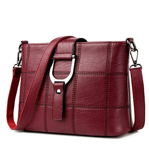 Vintage Ladies Bag Luxury Plaid Handbag Designer Brand
