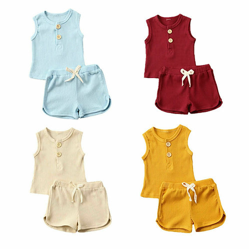 Baby Summer Clothing Toddler Kids Baby Girls Boys Clothes