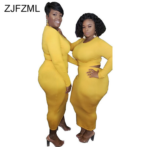 Plus Size Casual 2 Piece Outfits for Women Two Piece Matching Set