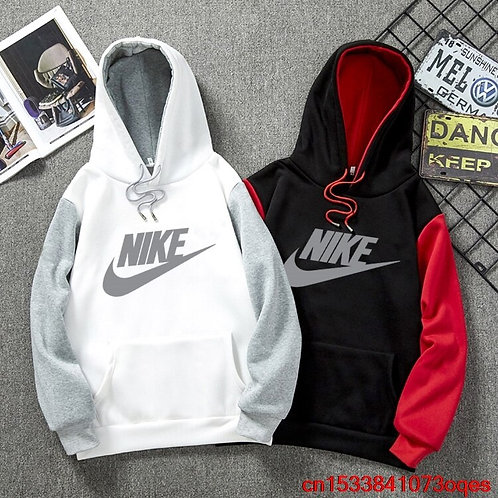 Nike Hoodies Men Fashion Mans Sweatshirts 100% Cotton Men's Hoodie 1NE6